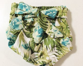 High-waisted Linen baby bloomers Baby Nappy Cover Diaper Cover Set baby shower baby girl