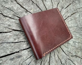Mens wallet leather wallet classic bifold wallet personalized wallet mens gift for him credit card wallet mens gift wedding gift for men