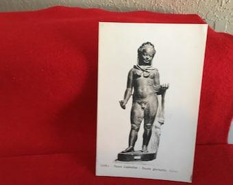 Vintage Art Museum Postcard-Salone