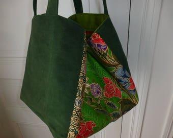 "Handbag ""antik batik green"""