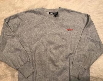 Vintage 90s Starter Spell Out Crewneck Sweatshirt