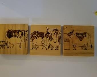Cows Triptych