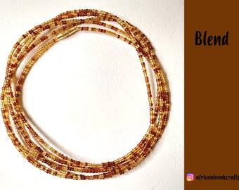 Blend - Waist Beads - Belly Chain - Belly Beads - African Waist Beads