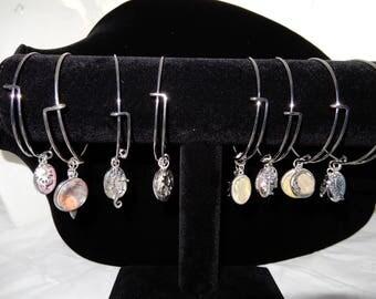 Acrylic Paint Charm Bracelets