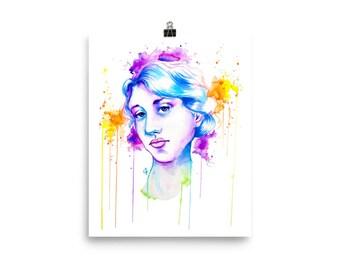 LGBT+Heroes Series: Virginia Woolf Poster