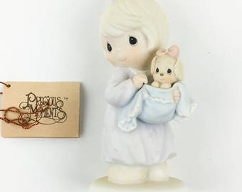 Vintage Precious Moments You Can Always Bring A friend Figurine 527122