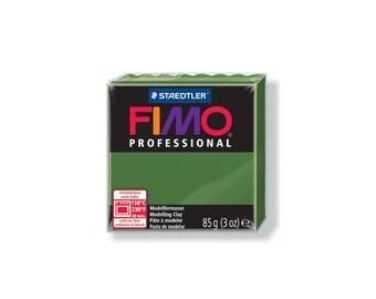 Polymer Fimo Pro 85 g - green leaf No. 57