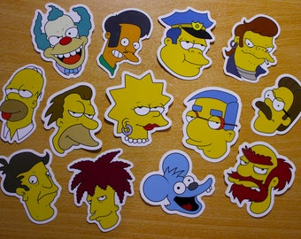 Mega Simpsons Sticker Pack
