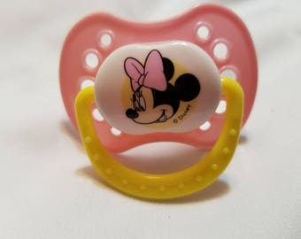 Adult Baby Pink Minnie Mouse Nuk 5 Pacifier ABDL