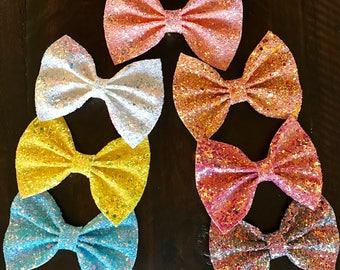 Super glitter bows