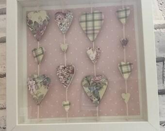 Floating Hearts Frame
