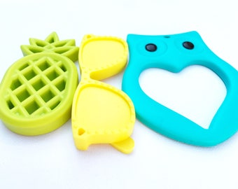 Weekend special silicone teething toys