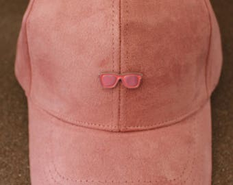 Pink Sunglasses Hat