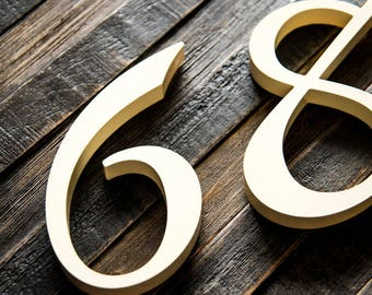 Flat Cut Acrylic House Numbers - Numbers Bayside