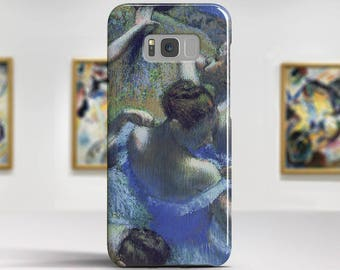 "Edgar Degas, ""Blue Dancers"". LG, Samsung, etc phone case.Samsung Galaxy S7 Case LG G6 case Huawei P10 Case Galaxy J5 2017 Case and more."