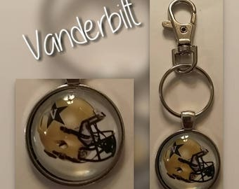 Vanderbilt Commodores key chain