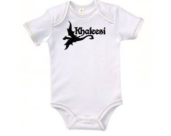 Khaleesi Dragon Game of Thrones Kids Children Shirt Bodysuit Many Sizes Colors Custom Horror Halloween Merch Massacre