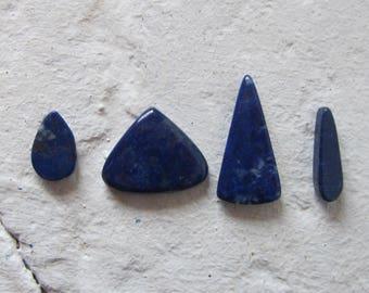 Lapis Lazuli. Lot 4 Pcs. S0434