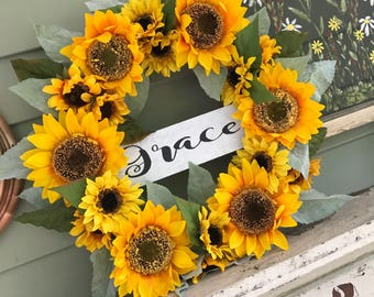 Sunflower grapvine