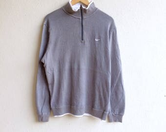 Nike Sportswear! The famous NIKE GOLF zipper small logo sweatshirt gray colour extra large size