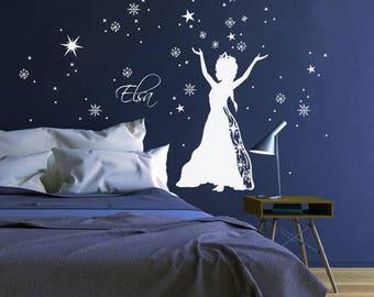 Wall Decal Ice Queen Princess Frozen M1647