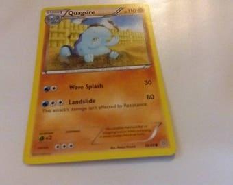 Pokemon Card Quagsire