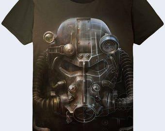2017 Gas Mask ART OF Follout 3D simbol shirt sign T-shirt new