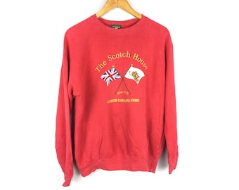 The Scotch House 160A Size Long Sleeve Bog Embroidered Logo With Mini Pockets