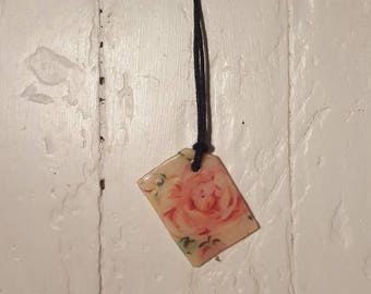 Handmade Floral necklace