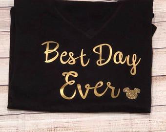 Best day ever mickey shirt Disney shirt matching family shirts