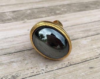 Large Locket Ring | Avon | Perfume Ring | Poison Ring | 1960s Vintage