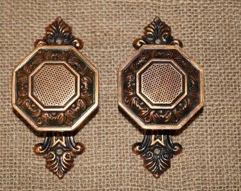 Door knob Copper door knob USSR door knobs Made in USSR Soviet door knobs Metal door knobs Pair door knobs Door handles USSR Soviet knobs