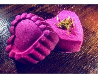Heart Shaped Bath Bomb 7oz