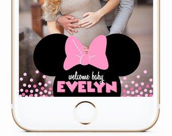 minnie mouse baby shower geofilter minnie mouse geofilter minnie baby geofilter minnie mouse