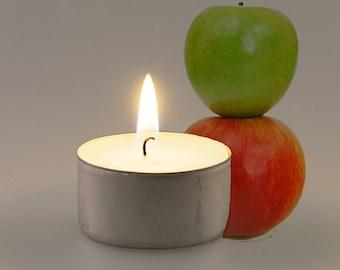 Apple Scented Vegan Soy Handmade Scented Tealights