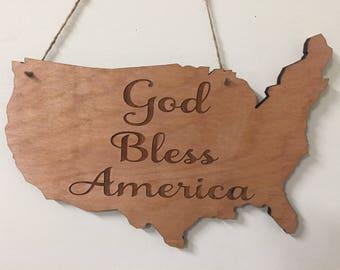 United States God Bless America