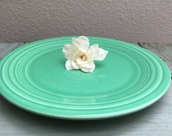 Fiesta Ware - Light Green Discontinued Luncheon Plate