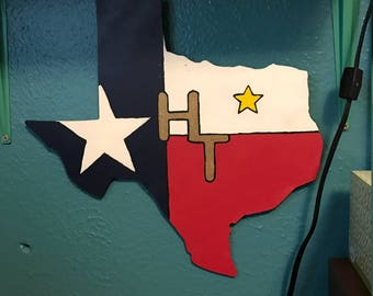 Great state of texas sign