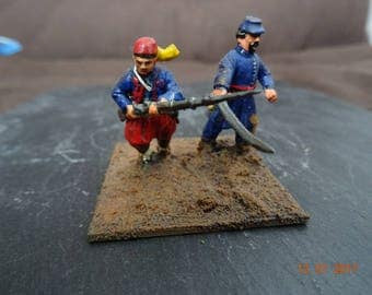 US civil war Zouave