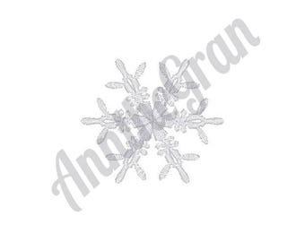 Snowflake - Machine Embroidery Design