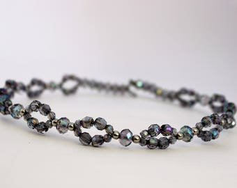 Silver Wired Headband