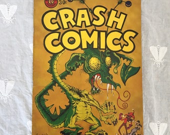 Stanford Chaparral June 1955 CRASH COMICS | Stanford University Comic Book Volume 56 Number 9