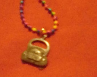 Friendship beaded necklace
