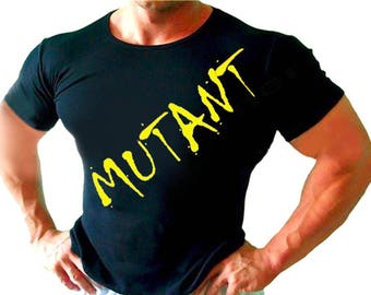 MUTANT Mens / Womens T-shirt High Quality Fashion Style Hand Crafted Apparel Bulk Orders Discounts !