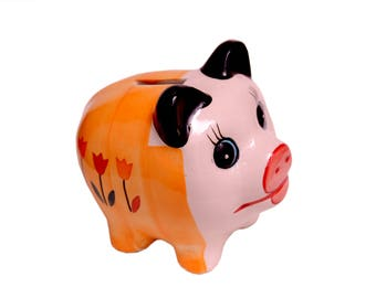 Ceramic Pottery | Coin bank | Piggy Bank | Perfect Gift