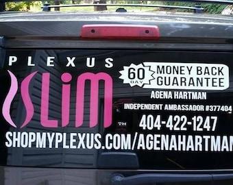 Plexus Car Decal