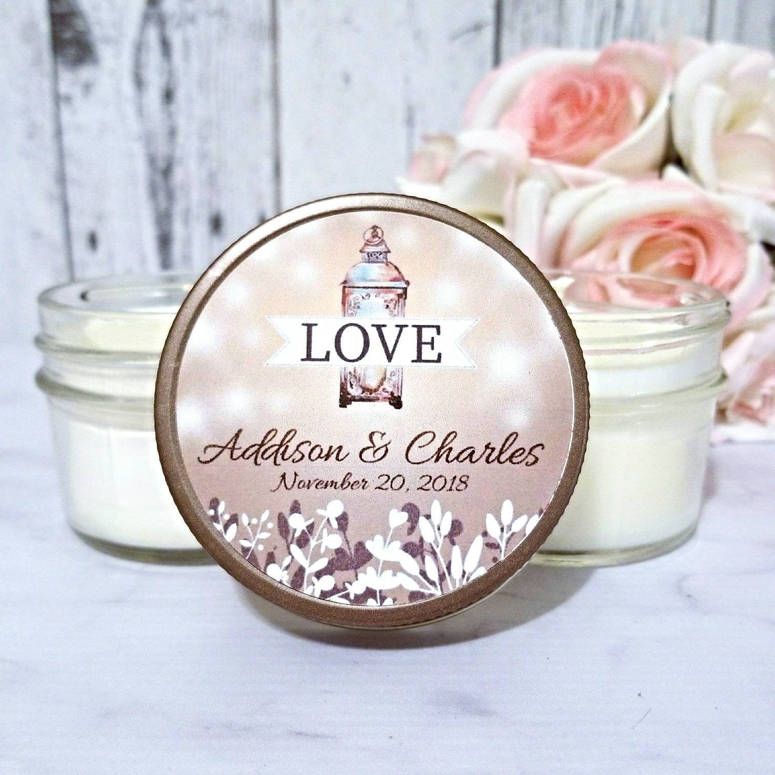 wedding favors candles - Wedding Decor Ideas