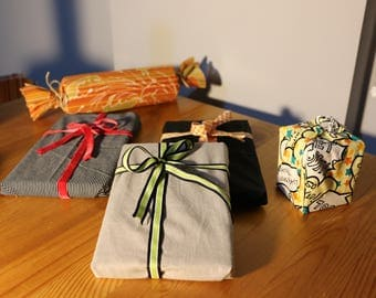 Sustainable Gift Bags - Fabric Gifts Bags