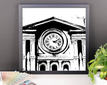 Clock Towers | Framed photo paper poster