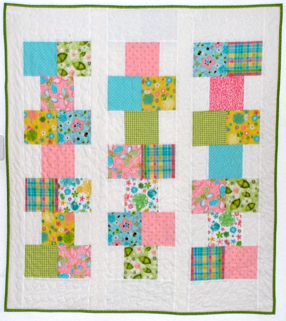 pdf baby quilt pattern...quick and easy...Hopscotch... charm : hopscotch quilt pattern - Adamdwight.com